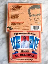 Banda El Recodo NO ME SE RAJAR CD Orig de 2002 Cruz Lizarraga 20 Page Booklet NM