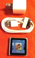 Apple iPod nano 6th Generation Silver (8GB) w/Bundle