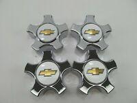 NOS OEM 2004-2006 CHEVROLET MALIBU CHROME Wheel Hub Center Caps ( SET OF 4)