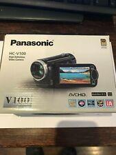 Panasonic HC-V100 Full HD Camcorder 42x Optical Zoom