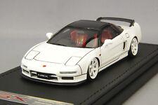 1/43 HPI IG Ignition Honda NSX NA1 white / black 18 inch TE37 wheel IG0929