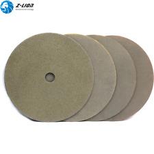 "4Pcs Electroplated Diamond Polishing Pads 7"" Sanding Disc Concrete Glass Tile"