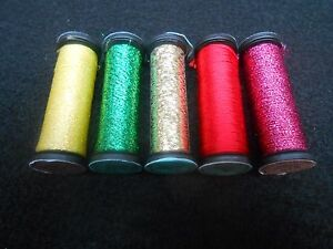 Kreinik Assorted sizes and colours Grab bag of 5 - colours may vary