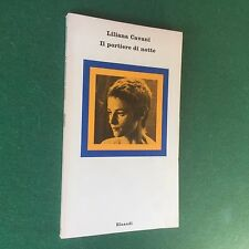 Liliana CAVANI - IL PORTIERE DI NOTTE Einaudi Nuovi Coralli/80 (1975) con Foto