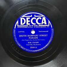 78obrotów Bob Crosby - South Rampart Street Parade / Smoke Mary Decca 2569