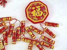 130 cm XXXL rouge chinoise artificielle des pétards Anniversaire Fête De Mariage japonais