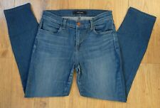 J BRAND ENIGMA Mid Blue Skinny Leg Jeans, Size 28 / UK 10