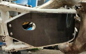 Honda CR500 CR 500 Carbon Fiber Sump Guard Glide plate Bash plate 1989 1990 1991