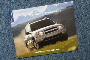 Chevrolet Tracker Prospekt Brochure aus Kanada