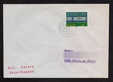 Switzerland: Cover with 1982 Publicity stamp and Stamp Collectors Club mark