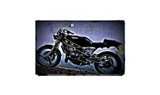 1991 sdr200 Bike Motorcycle A4 Retro Metal Sign Aluminium