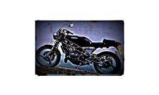 1991 sdr200 Bike Motorcycle A4 Retro Metal Sign Aluminium
