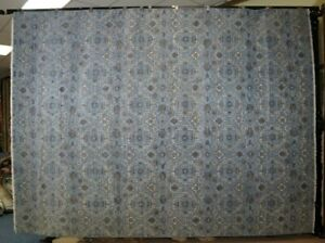 """9'2"""" x 12'2"""" ft. Contemporary Hand Knotted Oriental Wool Rug"""