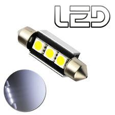 1 Ampoule navette C10W LED Blanc 41 mm 41mm Resistances Anti Erreur ODB Plaque