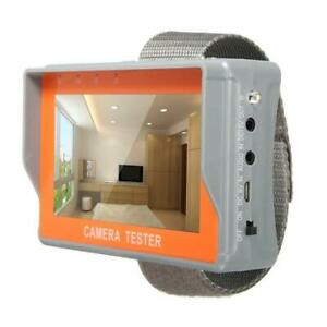"4.3"" AHD Camera Tester CCTV 12V PTZ Control LCD Audio Video Security AHD UTP AU"