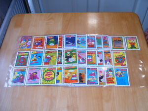 Set of 66 Topps Zig and Zag 1994 Trading cards Excellent condition.