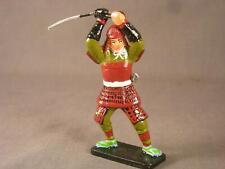 by Famous Artist Ed Colarik Unique 16th. Century Japan Samurai w/Sword Overhead
