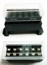 Quality 12 Volt Standard Blade Fuse Holder Box Car 6 Fuses Alarm Wiring Relays