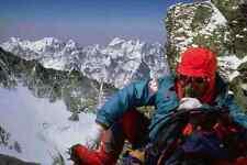 765078 posata sul sud Ridge su Everest 6500 M HIMALAYA MONTAGNA A4 FOTO