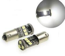 Ampoule BA9S LED T4W Canbus 8 SMD Lumiere 6000K Blanche xenon Veilleuse 2pcs