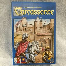 Carcassonne Includes Free River Expansion ~ MINT! ~ COMPLETE~ Rio Grande Games