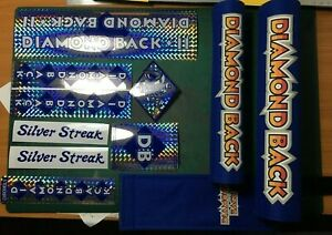 Diamondback padset + decals (Darkblue set)