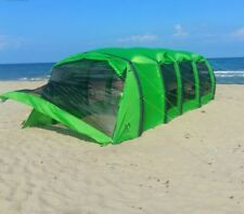 Waterproof 15-25 Person Family Camping Yard Lawn Beach Tunnel Tent HUGE NEW