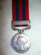 """India General Service Medal 1854-95, 1 clasp, """"Persia"""" to Staffordshire Regt."""