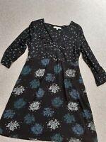Vintage Laura Ashley  Jersey Dress  UK 14 (EU 40 US 10)