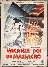 manifesto 2F film VACANZE PER UN MASSACRO Fernando Di Leo Joe Dallesandro 1979