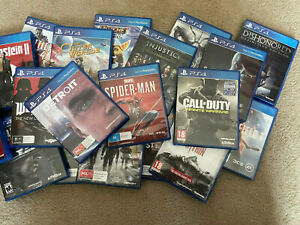Various PS4 Games (All Complete)