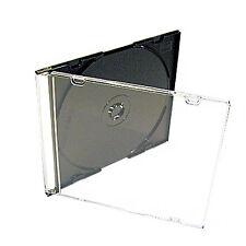 200 River CD/DVD Premium Ultra Slimline Single Jewel Case 5.2mm (DOUBLE BOXED)