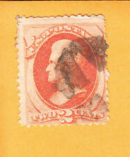 US BOLD FANCY CANCEL 2¢ Bank Note Circular Negative X Or 4 Pt Star   A1