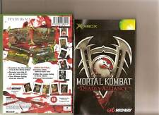 MORTAL KOMBAT DEADLY ALLIANCE XBOX / X BOX RATED 18