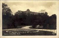 Uppsala Schweden Sverige AK 1928 Stadsparken Parken Slottet Parkanlage Schloss