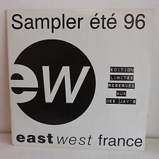 "MAXI 12"" Compil East West Sampler été 96 COOLIO / SCORPIONS / MELLOWMAN .. 2X12"""