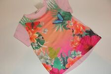 H&M Butterfly Top T-Shirt Shirt Girls Girl Size 2 3 4 NWT NEW