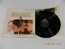 Doctor Zhivago 33rpm record MGM Records original sound track album S1E-6ST