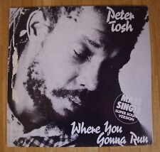 """PETER TOSH Where You Gonna Run 12""""-Maxi/GER"""