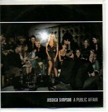 (274J) Jessica Simpson, A Public Affair - DJ CD