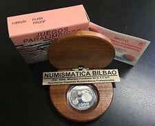 ESPAÑA 1000 PESETAS 2000 JUEGOS PARAOLIMPICOS ATLETISMO SILLA DE RUEDAS KM.944