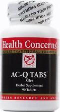 Health Cncrns AC-Q 90 tabs