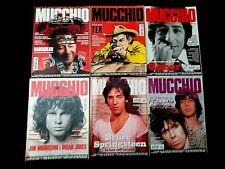 MUCCHIO SELVAGGIO LOTTO N.6 RIVISTE 2010/2011#TEX WILLER/RADIOHEAD/GABER/ROLLING
