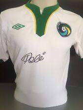 Firmado Pele New York Cosmos Camisa Retro Umbro