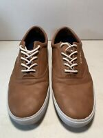 Tommy Hilfiger Brown Leather Lace Up Designer Shoes Men's Size 12