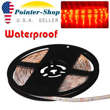 DIY Waterproof 5M Red Flexible Soft LED Light Strip Lamp 3528 SMD 300leds DC 12V