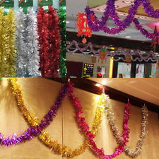 Luxury Chunky Xmas  Tinsel Garland Tree Room Home Party festival Decorations