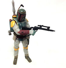 "STAR WARS  BOBA FETT bounty hunter 3.75"" action toy figure  VERY NICE!"