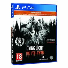 DYING LIGHT THE FOLLOWING PS4 ENHANCED EDITION VERSIONE ITALIANA