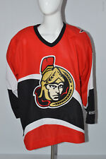 Ottawa Senators NHL Hockey Official Jersey  Adult Large CCM Red Made in Canada